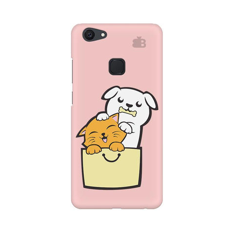 Kitty Puppy Buddies Vivo V7 Plus Phone Cover