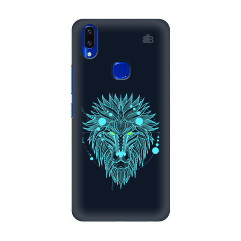 Abstract Art Lion Vivo V9 Youth Cover