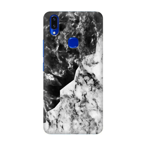 Black White Marble Vivo V9 Youth Cover