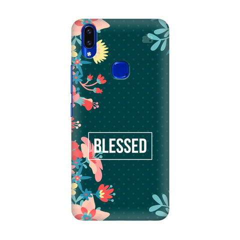 Blessed Floral Vivo V9 Youth Cover