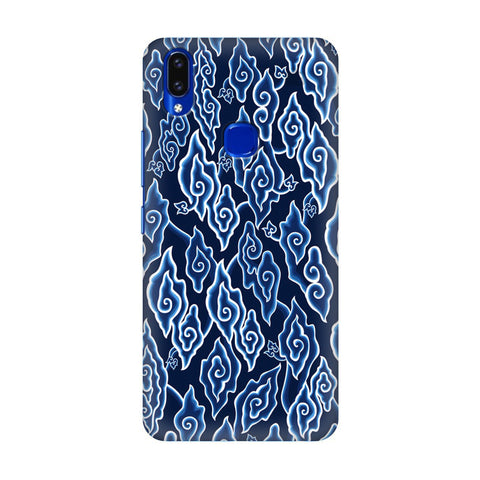Blue Batic Art Vivo V9 Youth Cover