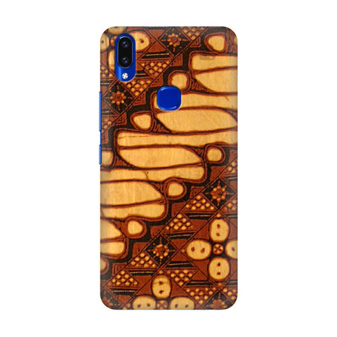 Brown Batik Vivo V9 Youth Cover