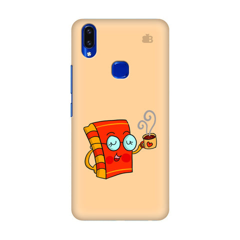Coffee and Book Vivo V9 Youth Cover