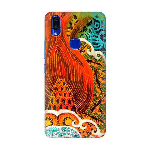 Colorful Batik Art Vivo V9 Youth Cover