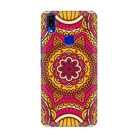 Colorful Ethnic Art Vivo V9 Youth Cover