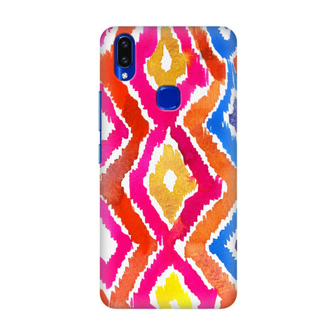 Colorful Ikat Vivo V9 Youth Cover