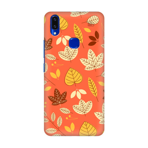 Cute Leaves Pattern Vivo V9 Youth Cover