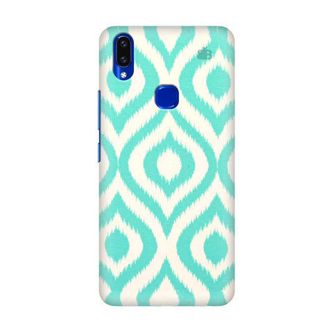 Cyan Ikat Vivo V9 Youth Cover