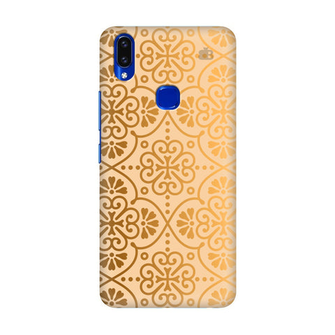 Ethnic Gold Ornament Vivo V9 Youth Cover