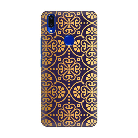 Gold Ornament Vivo V9 Youth Cover