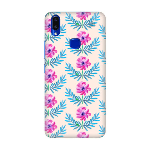 Pink Watercolor Pattern Vivo V9 Youth Cover