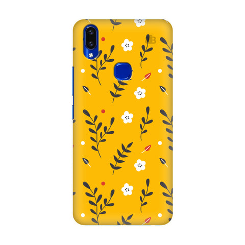 Summer Floral Pattern Vivo V9 Youth Cover