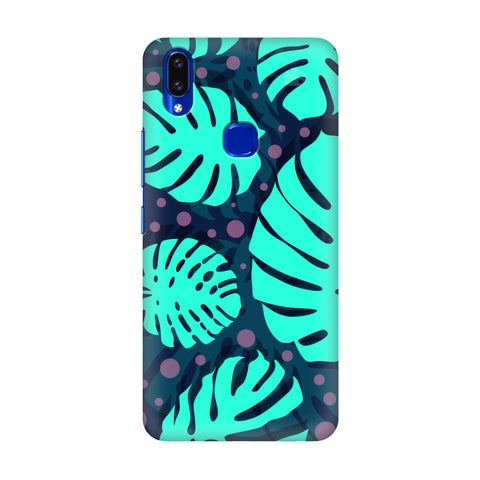 Tropical Leaves Pattern Vivo V9 Youth Cover