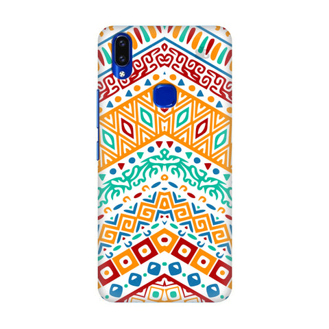 Wavy Ethnic Art Vivo V9 Youth Cover