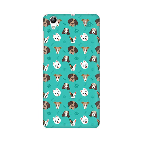 Doggie Pattern Vivo Y51L Phone Cover