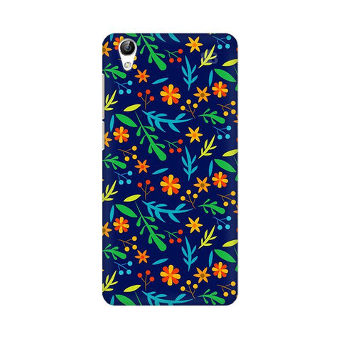 Vibrant Floral Pattern Vivo Y51L Phone Cover