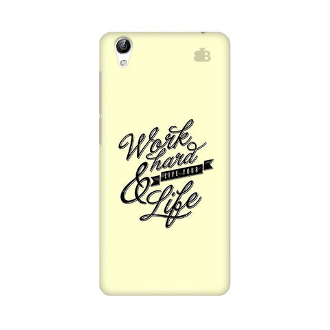 Work Hard Vivo Y51L Phone Cover