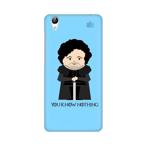 You Know Nothing Vivo Y51L Phone Cover