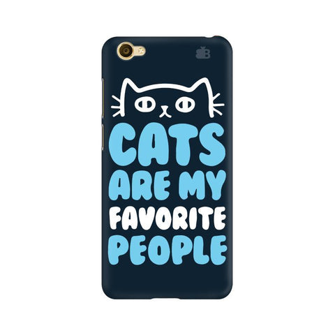 Cats favorite People Vivo Y55L Phone Cover