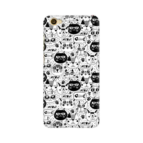 Cute Cats Pattern Vivo Y55L Phone Cover