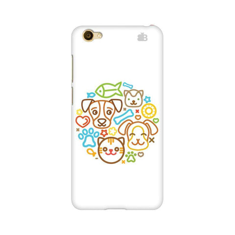 Cute Pets Vivo Y55L Phone Cover