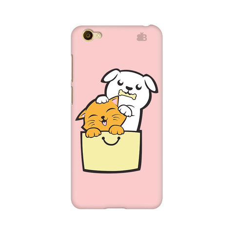 Kitty Puppy Buddies Vivo Y55L Phone Cover