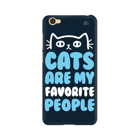Cats favorite People Vivo Y66 Phone Cover