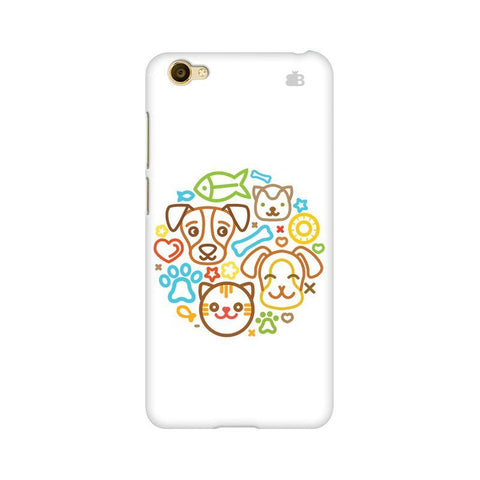 Cute Pets Vivo Y66 Phone Cover