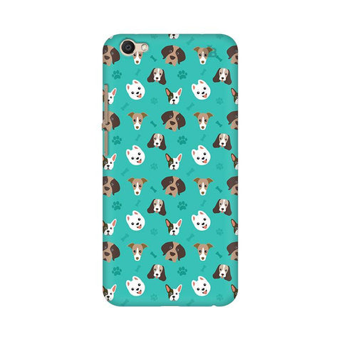 Doggie Pattern Vivo Y69 Phone Cover