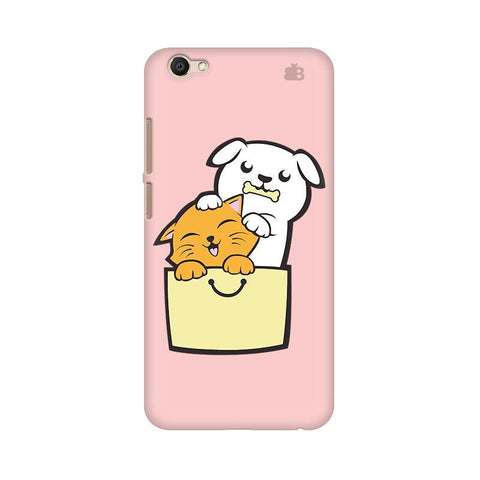 Kitty Puppy Buddies Vivo Y69 Phone Cover