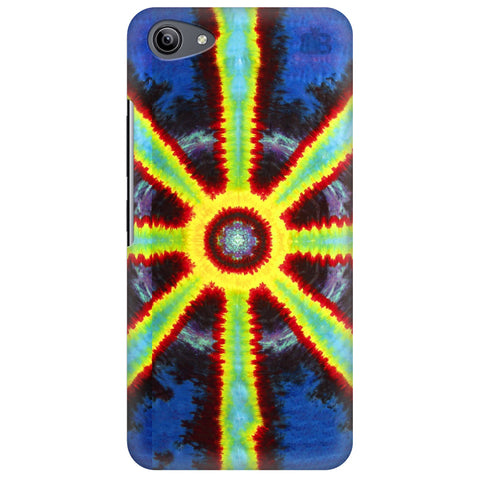 Tie Die Pattern Vivo Y81i Cover