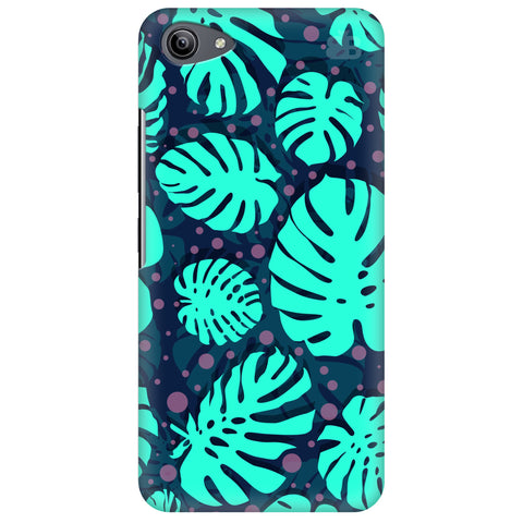 Tropical Leaves Pattern Vivo Y81i Cover