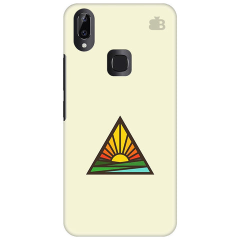 Triangular Sun Vivo Y83 Pro Cover