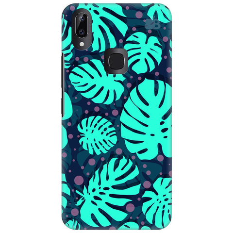 Tropical Leaves Pattern Vivo Y83 Pro Cover