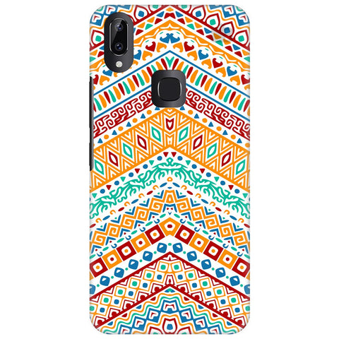 Wavy Ethnic Art Vivo Y83 Pro Cover