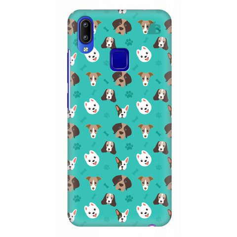 Doggie Pattern Vivo Y95 Cover