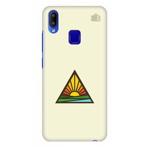 Triangular Sun Vivo Y95 Cover