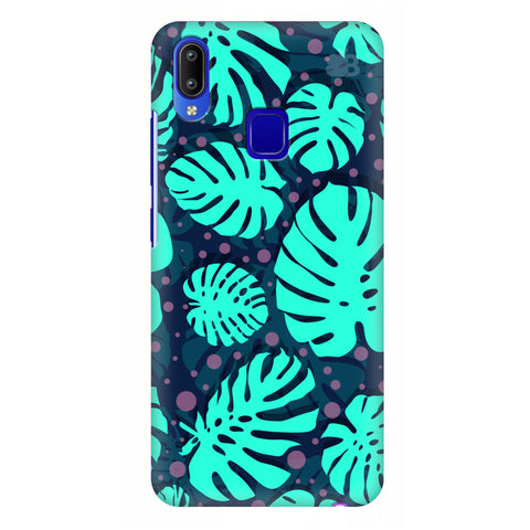 Tropical Leaves Pattern Vivo Y95 Cover