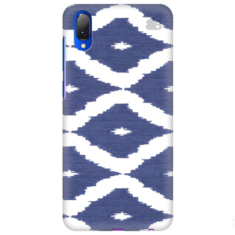 Blue Ikat Vivo Y97 Cover