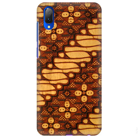 Brown Batik Vivo Y97 Cover