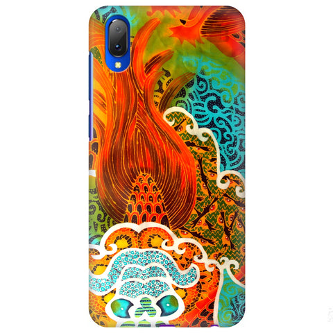 Colorful Batik Art Vivo Y97 Cover