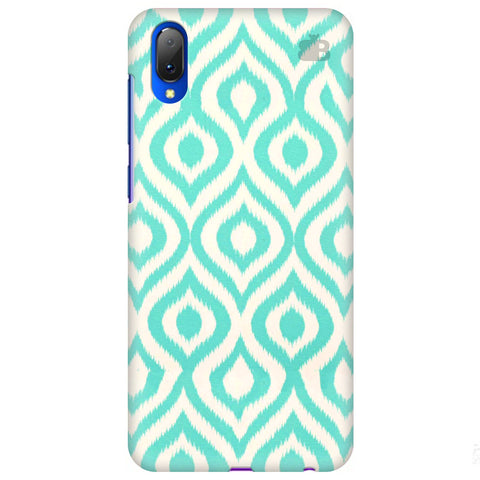 Cyan Ikat Vivo Y97 Cover
