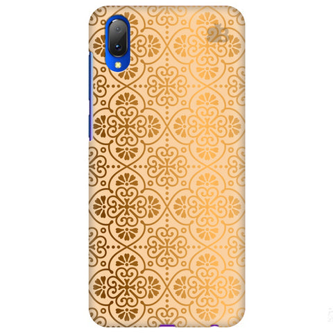 Ethnic Gold Ornament Vivo Y97 Cover