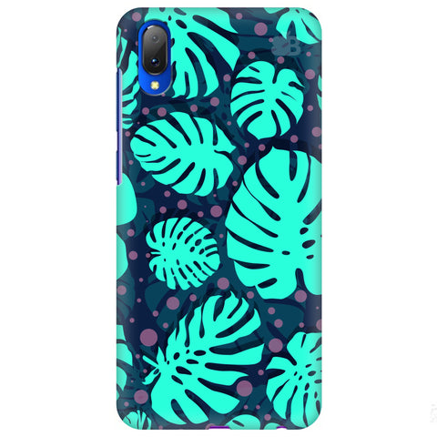 Tropical Leaves Pattern Vivo Y97 Cover
