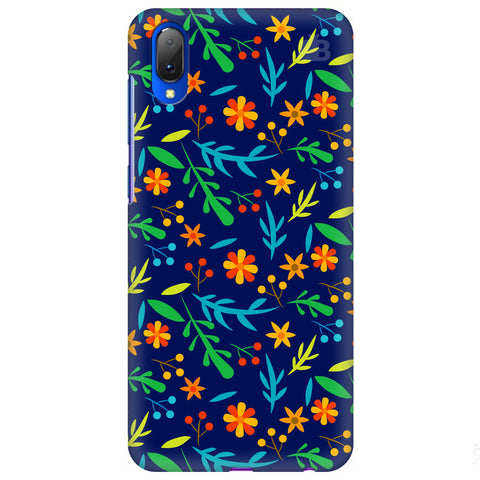Vibrant Floral Pattern Vivo Y97 Cover