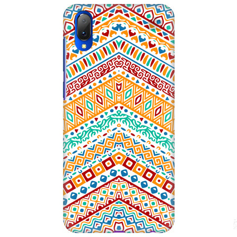Wavy Ethnic Art Vivo Y97 Cover
