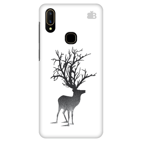 Abstract Deer Vivo V11 Cover