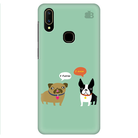 Cute Dog Buddies Vivo V11 Cover