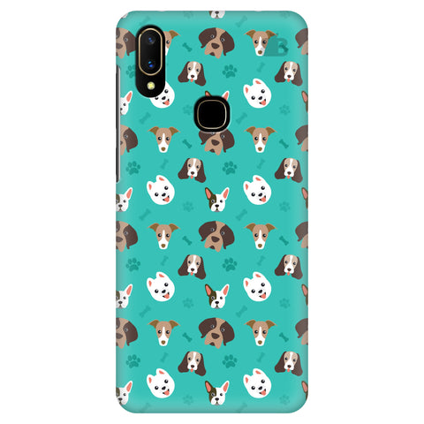 Doggie Pattern Vivo V11 Cover