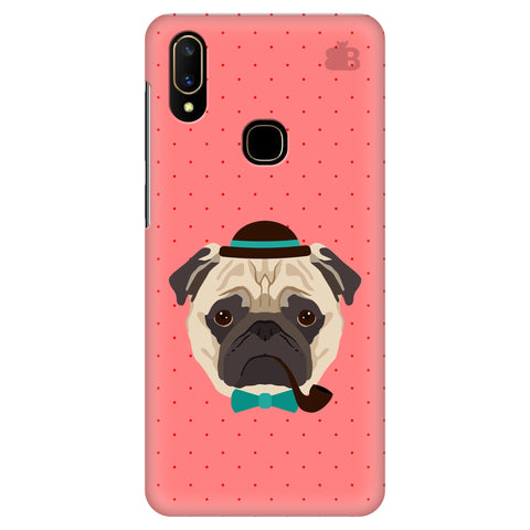 Gentleman Pug Vivo V11 Cover